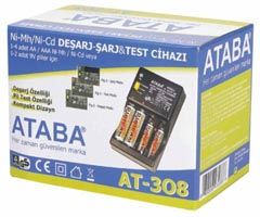 Ataba AT-308 Şarj Deşarj Test Cihazı
